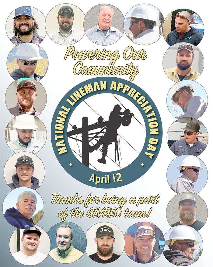National Lineman Appreciation graphic and all linemen photos